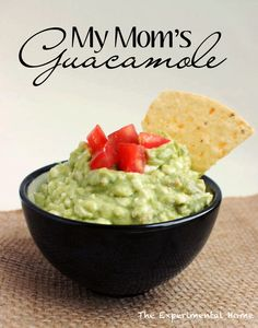 Guacamole - three versions using an unexpected ingredient....cottage cheese.