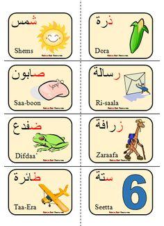 Arabic alphabet Flashcards image 2