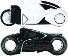 The TRON Light Cycle USB is Appropriate and Practical #Pop culture trendhunter.com