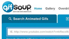 [Tutorial] How To Create An Animated GIF From A YouTube Video - If you ever wondered how people create those animated GIFs for their profile pictures at forums, blogs, and other social web site this tutorial will help you find out and also teach you to create your own one. With the free online services called GifSoup, you can easily create an animated GIF from a video excerpt found on YouTube. [Click on Image Or Source on Top to See Full News]