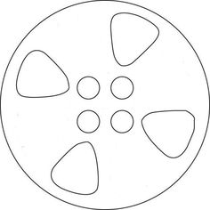 Movie Reel Template Movie Reel Template to be transferred to an 8 inch or 10 inch cake board and holes cut out. Cover it with black fondant. Outdoor Movie Party, Movie Night Party, Family Movie Night, Backyard Movie Theaters, Backyard Movie Nights, Movie Themes, Party Themes, Party Ideas, Red Carpet Theme Party