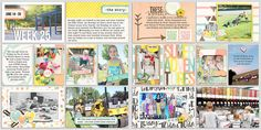 digital scrapbook project life layout created with Quick Pockets 5 (Storyteller Hadley Add on) and Storyteller Hadley collection by Just Jaimee