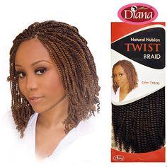 Nubian Synthetic Hair Braids Natural Twist Braid