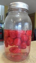 How to Make Raspberry Vinegar and Vinaigrette