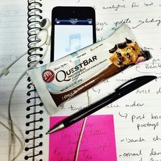 Let this Chocolate Chip Cookie Dough Quest Bar give you a tasty break from your daily routine. Thank you Rachel N. for sharing! Dough Box, Quest Nutrition, Quest Bars, Bar Led, Chocolate Chip Cookie Dough, Protein Bars, Cookie Bars, Ale, Routine