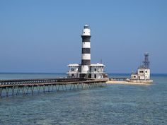 File:Daedalus Reef with its lighthouse Home Again, Lighthouses, Statue Of Liberty, Egypt, Around The Worlds, Sea, Castles, Travel, Lighthouse