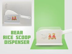 Bear Rice Scoop Dispensor Bear Rice Scoop Dispensor - TCAT Philippines Online Shopping Mall in the Philippines
