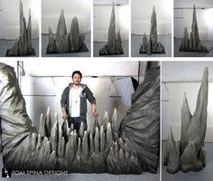 Custom Characters, Foam Carving, Sculpture, Theme Props, Foam ...