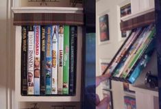 Old DVDs Hide Secret Storage in this DIY Project. From Instructables, this DIY project shows you how to use the cases from old DVDs to hide a secret compartment in a shelf. All you need is a few old cases and some supplies from the hardware store (The Instructables guy behind the whole project estimates it costs around $25).