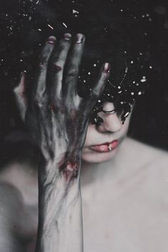 creepy, dark, and grunge image - Graphic Work Story Inspiration, Writing Inspiration, Character Inspiration, Freetress Deep Twist, Cute But Psycho, Creepy, Graphic Novel, Arte Obscura, 3d Fantasy
