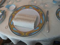 Oceania Cruises - Nautica, Dining plate worth $3,500