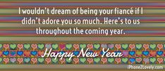 Fiance New Year Wishes