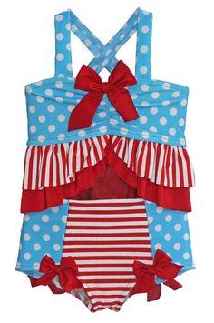 NWT Baby GAP Americana Patriotic Stars Tankini Swimsuit U Pick Size NEW