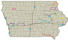 Iowa Scenic Byways - I see some car trips in my future!