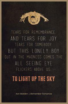 Iron Maiden Remember Tomorrow