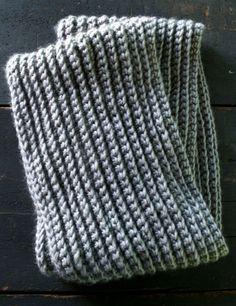 Crocheted Rib Cowl   Purl Soho - Create