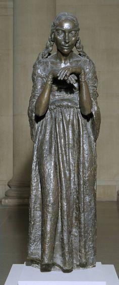 Sir Jacob Epstein 'The Visitation', 1926. In Tate Britain, London