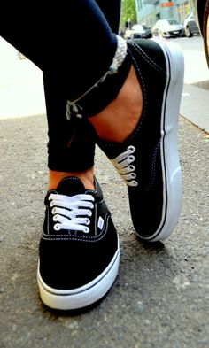 Black vans to scuff up :)