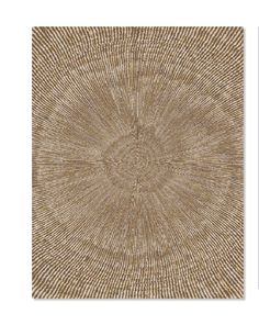 Cross Section rug in Brown via Fort Street Studio