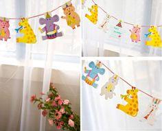 2-Meter-Cute-Safari-Animal-Party-Flag-Banners-Supplies-Bunting-Kids-Party-Fun