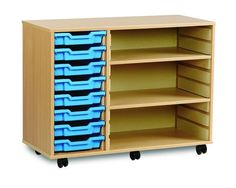 Make the most of the space in your #Classroom with #LOFDirects amazing range of #SchoolStorage
