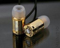 Bullet ear plugs!