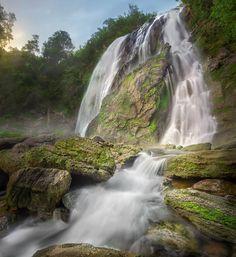 Klonglan Waterfall... Klonglan Waterfall. The famous waterfall in Kamphaeng Phet province.