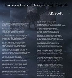 """This is an excerpt from JR Scott's upcoming epic poem, tentatively titled """"Tales of the Raven and Bastard."""" It's worth a read."""