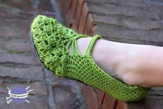 Adult Slippers Crochet Pattern pattern on Craftsy.com  $3.99