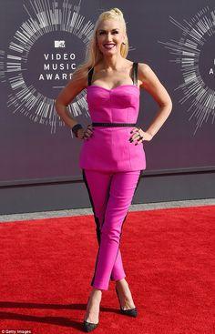 Gwen Stefani at the 2014 MTV Video Music Awards