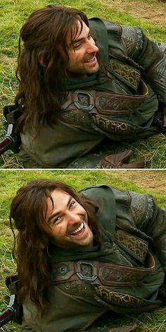 Aidan Turner behind the scenes
