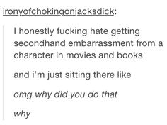 Funny, relatable tumblr posts