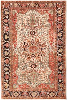 Antique Mohtashem Kashan Persian Rug 47052 Nazmiyal - By Nazmiyal  http://nazmiyalantiquerugs.com/antique-rugs/kashan-style/antique-mohtashem-kashan-persian-rug-47052/