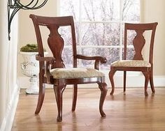 Thomasville Furniture King Street Dining Chairs set of 2 sides 42621-841