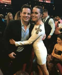 Justin Chambers and Camilla Luddington Greys Anatomy Alex, Greys Anatomy Cast, Greys Anatomy Memes, Camilla Ludington, Alex And Jo, Popsugar, Justin Chambers, Sarah Drew, Grey's Anatomy Tv Show