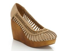 love the organic feel of these wedges.