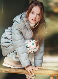 ALALOSHA: VOGUE ENFANTS: Autumn look: The Armani Junior campaign starring Kristina Pimenova