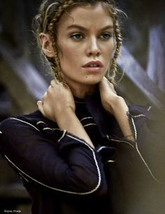 World Country Magazines: Fashion Model @ Stella Maxwell for ELLE Russia, July 2015