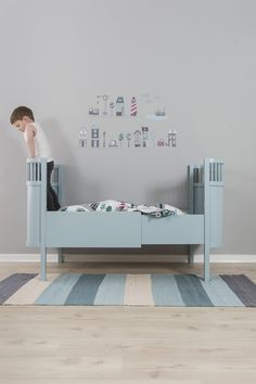 Sebra Kili Cot Bed and Junior Bed from Nubie, published by Bobby Rabbit