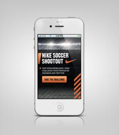 Nike Mobile on the Behance Network