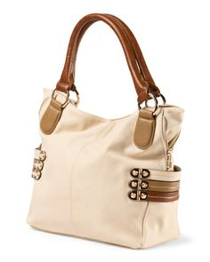 Evelyn Tricolor Straps Tote