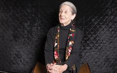 Nadine Gordimer, the South African author who won the Nobel Prize for literature.