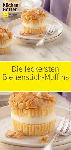 Wir lieben Bienenstich! Heute backen wir den beliebten Kuchen aber mal anders: Als Muffins! Da bleibt kein Krümelchen auf dem Teller. Die müsst ihr probieren!