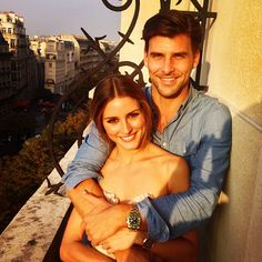Olivia Palermo Engaged to Johannes Huebl | Video | POPSUGAR Style ...