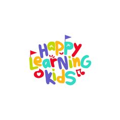 Happy Learning Kids - Showcase and discover creative work on the world's leading online platform for creative industries - Kids Branding, Logo Branding, Branding Design, Learning Logo, Kids Learning, Preschool Logo, Drops Design, Toys Logo, App Logo