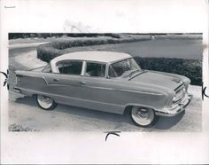 1955 Super 4 Door Nash Sedan Automobile Wire Photo