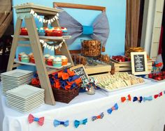 Bow Tie Little Man Baby Shower Party Ideas | Photo 5 of 27 | Catch My Party