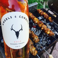 #kabobs on the #Souvla with #Angelsandcowboys rose