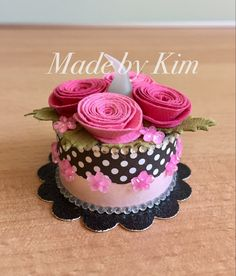 Rosie Tea Light Cake (made by Kim) Tea Light Lanterns, Tea Light Candles, Tea Lights, Mini Tortillas, 3d Paper Crafts, Paper Gifts, Light Cakes, Birthday Cake With Candles, Candle Craft