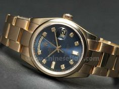 """AOL Image Search result for """"http://chineseflair.com/images/Rolex Day-date Gold Blue Dial Copy Watch.jpg"""""""